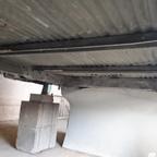 Unterboden vorbereitet für neue Grundierung