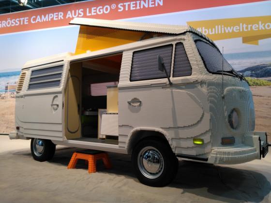 Legomodell VW T2 Westfalia